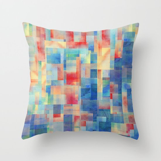 Long Division (Torrent Remix) Throw Pillow