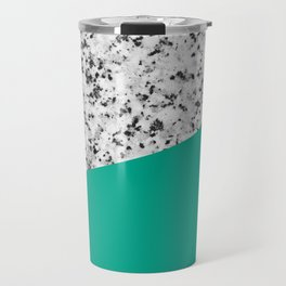 Marble with Arcadia Color Travel Mug