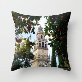 Catedral De Cordoba Throw Pillow