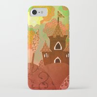 castle iPhone & iPod Cases featuring Castle by Ingrid Castile