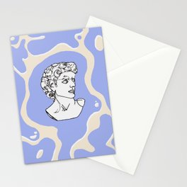 Marble man Stationery Cards