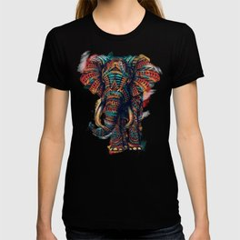 Ornate Elephant (Watercolor) T-shirt