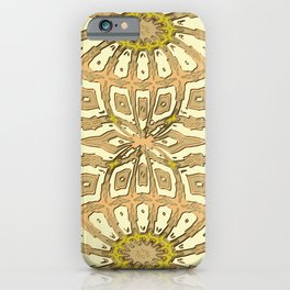 Retro Vintage Mustard Yellow Daisy iPhone Case