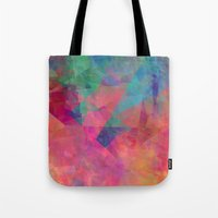 broken Tote Bags featuring Broken by Christy Leigh