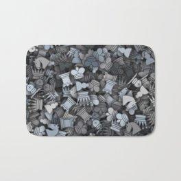 Chess camouflage Bath Mat