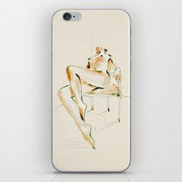 nude woman 2 iPhone Skin