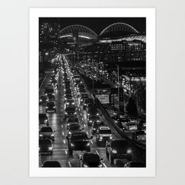 Seattle Viaduct Art Print