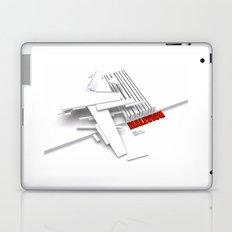 Malevich 3D [B&W] Laptop & iPad Skin