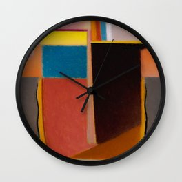 Alexej von Jawlensky - Abstrakter Kopf Klarheit - Abstract Head Clearness Wall Clock