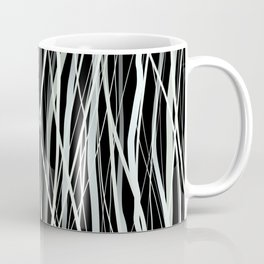 White Ink Coffee Mug