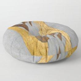Gustav Klimt - Die Künste Floor Pillow