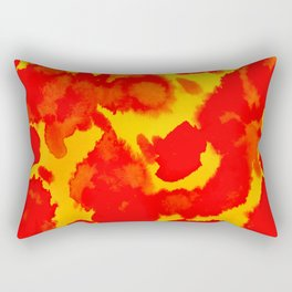 Twin Flame Rectangular Pillow