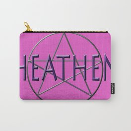 Heathen in Pink Carry-All Pouch