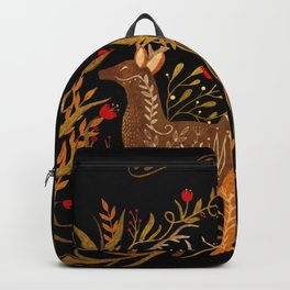 Two Stags Protecting The Dark Forest Gate Backpack