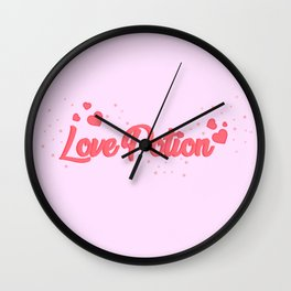love potion Wall Clock