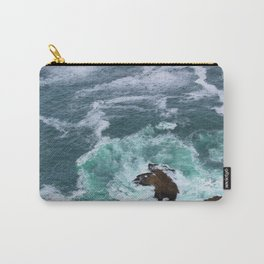 Churning Waves at Point Reyes Carry-All Pouch