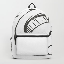 Male Illustration Backpack