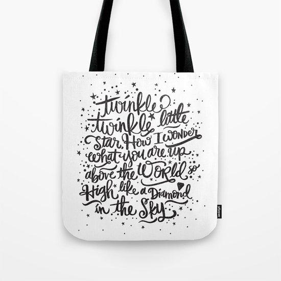 TWINKLE TWINKLE TWINKLE TWINKLE Tote Bag