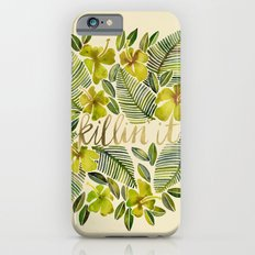 Killin' It – Tropical Yellow iPhone 6s Slim Case