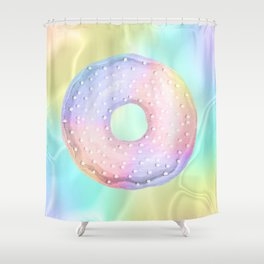 3-Donut Shower Curtain