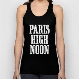 Paris High Noon Unisex Tank Top