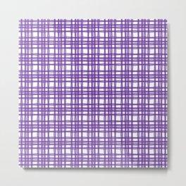 kariran (violet) Metal Print