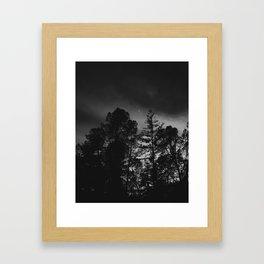 Dreary Dream Framed Art Print