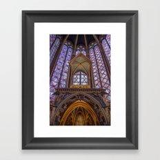 Sainte Chapelle - Paris Framed Art Print