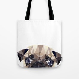Pug Diamonds Tote Bag