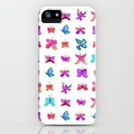 Teeny Butteflies iPhone Case