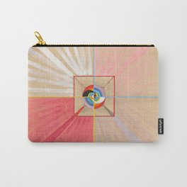 """Hilma af Klint """"The Swan, No. 11, Group IX-SUW"""" Carry-All Pouch"""