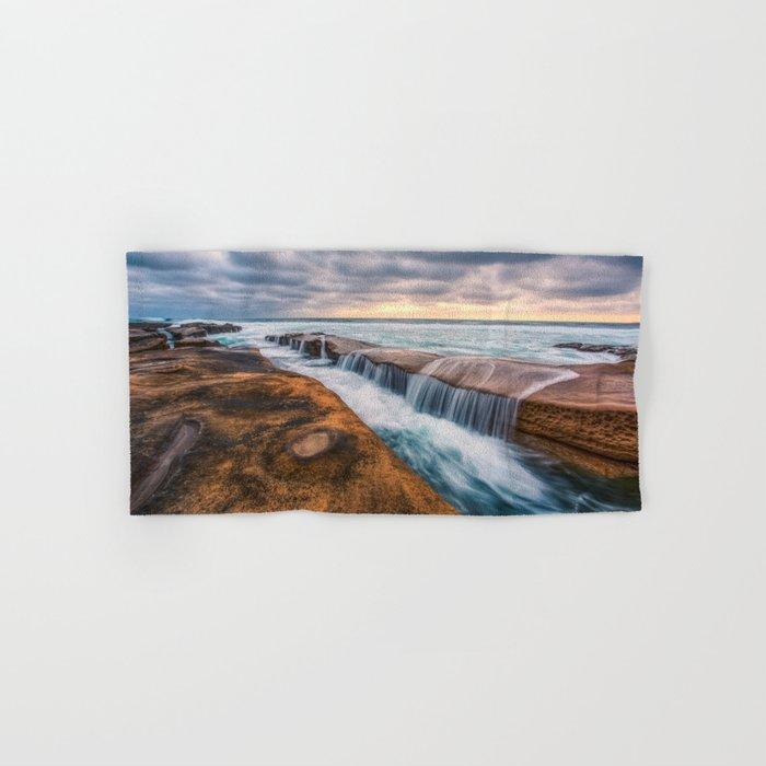 Ocean waves landscape Hand & Bath Towel
