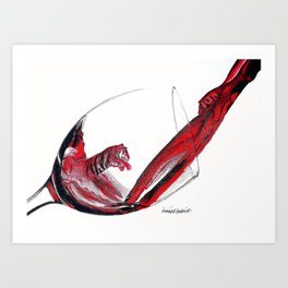 Wild Wine Art Print