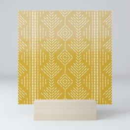Yellow Ombre needlepoint Mini Art Print