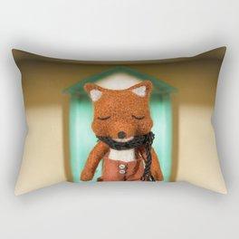 """Bienvenido Camarada"" Rectangular Pillow"