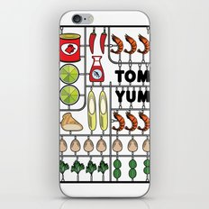 Tom Yum Assembly Kit iPhone & iPod Skin