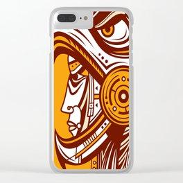 Cuauhtli Clear iPhone Case