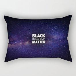 Black Holes Dark Matter Rectangular Pillow