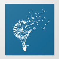 wind Canvas Prints featuring Going where the wind blows by Picomodi