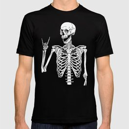 Rock and Roll Skeleton T-shirt