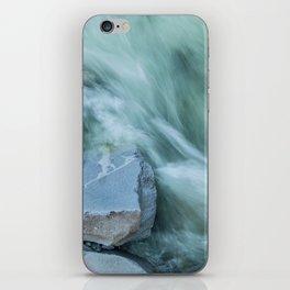 Marble River Run iPhone Skin
