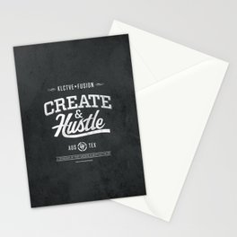 KLCTVEfusion Create and Hustle Stationery Cards