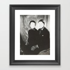 We Can Read Each Other's Minds Framed Art Print