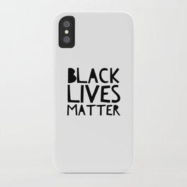 Black Lives Matter 2 iPhone Case
