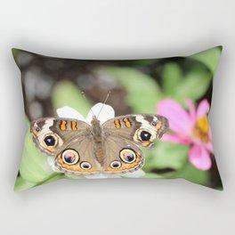 Beautiful Buckeye Butterfly Rectangular Pillow