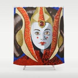 Queen Amidala Shower Curtain