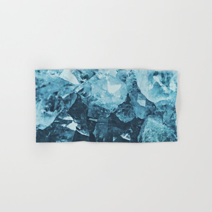 Aquamarine Gem Dreams Hand & Bath Towel