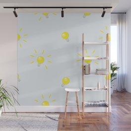 Bulbs Wall Mural