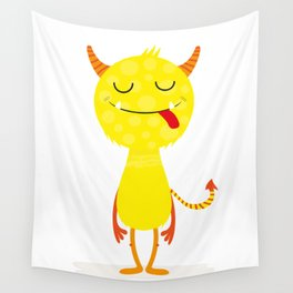 Funny little monster #society6 #decor Wall Tapestry