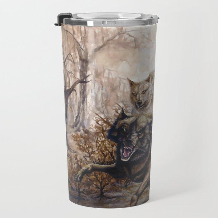 Pack of Wolves Travel Mug
